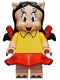 Minifig No: collt11  Name: Petunia Pig - Minifigure only Entry