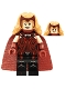 Minifig No: colmar01  Name: The Scarlet Witch - Minifigure Only Entry