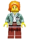 Minifig No: coltlnm09  Name: Misako (Koko) - Minifigure Only Entry, no stand, no accessories
