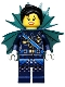 Minifig No: coltlnm11  Name: Shark Army General #1 - Minifigure Only Entry, no stand, no accessories