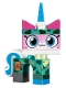 Minifig No: coluni08  Name: Camouflage Unikitty - Character Only Entry, no stand