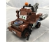 Minifig No: crs040s  Name: Tow Mater with Guns with Time Bomb Sticker