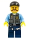 Minifig No: cty0360  Name: Police - LEGO City Undercover Elite Police Officer 1 - Brown Beard