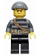 Minifig No: cty0364  Name: Police - City Burglar, Knit Cap