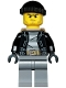 Minifig No: cty0452  Name: Police - City Bandit Male with Black Stubble and Backpack