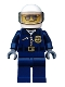 Minifig No: cty0487  Name: Police - City Helicopter Pilot, Sunglasses