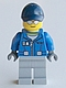 Minifig No: cty0604  Name: Deep Sea Seaplane Pilot