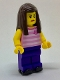 Minifig No: cty0719  Name: Rollerskater