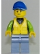 Minifig No: cty0730  Name: Catamaran Operator, Male
