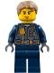 Minifig No: cty0780  Name: Police - City Chase McCain - Dark Blue Uniform