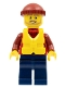 Minifig No: cty0817  Name: Coast Guard City - Lifeboat Passenger (60164)
