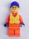 Minifig No: cty0818  Name: Coast Guard City - Rescue, Life Jacket
