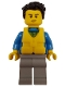 Minifig No: cty0825  Name: Coast Guard City - Sailboat Passenger