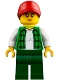 Minifig No: cty0838  Name: Truck Driver, Female