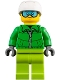 Lot ID: 165883645  Minifig No: cty0857  Name: Skier
