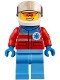 Minifig No: cty0858  Name: Helicopter Pilot