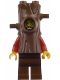 Minifig No: cty0872  Name: Mountain Police - Crook Male Stumpy 10K (in tree costume)