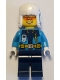 Minifig No: cty0928  Name: Arctic Explorer - Ushanka Hat, Orange Sunglasses