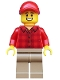 Minifig No: cty0982  Name: Popcorn Vendor