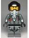 Minifig No: cty0993  Name: Sky Police - Jail Prisoner Jacket over Prison Stripes, Black Helmet, Oxygen Mask