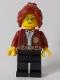Lot ID: 251573458  Minifig No: cty1012  Name: Fire Chief, Female - Freya McCloud