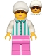 Minifig No: cty1026  Name: Ice Cream Vendor - Cap
