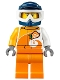 Minifig No: cty1096  Name: ATV Driver, Male, Helmet