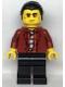 Minifig No: cty1108  Name: Police - Bandit Crook Vito