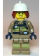 Minifig No: cty1113  Name: Fire Fighter, Female - Freya McCloud