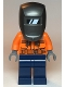 Minifig No: cty1115  Name: Construction Worker, Male, Welder