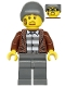 Minifig No: cty1144  Name: Police - Crook Frankie Lupelli