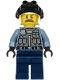 Minifig No: cty1204  Name: Police - Officer Sam Grizzled, Sand Blue Jacket