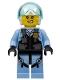 Minifig No: cty1208  Name: Police Officer - Rooky Partnur, Jet Pilot