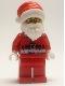 Minifig No: cty1209  Name: Police Chief - Wheeler, Santa Disguise