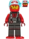 Minifig No: cty1276  Name: Police - Crook Frankie Lupelli, Diving Suit