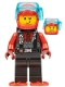 Minifig No: cty1293  Name: Diver - Male, Red Helmet, Black Airtanks, Red Flippers