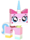 Minifig No: dim010  Name: Unikitty - Dimensions Fun Pack (Figure Only)