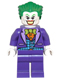 Minifig No: dim017  Name: The Joker - Blue Vest, Single Sided Head - Dimensions Team Pack