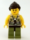 Minifig No: dino007  Name: Hero - Female