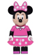 Minifig No: dis011  Name: Minnie Mouse - Minifigure only Entry