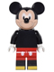 Minifig No: dis012  Name: Mickey Mouse - Minifigure only Entry