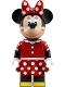 Minifig No: dis043  Name: Minnie Mouse - Red Polka Dot Skirt