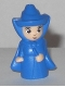 Minifig No: dp047  Name: Good Fairy (Merryweather) - Blue