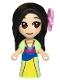 Minifig No: dp080  Name: Mulan - Micro Doll
