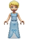 Minifig No: dp095  Name: Cinderella - Dress with Stars and Bow