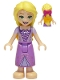 Minifig No: dp103  Name: Rapunzel with 2 Bows in Hair