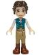 Minifig No: dp104  Name: Flynn Rider - Dark Turquoise Vest