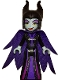 Minifig No: dp106  Name: Maleficent - Filigree Dress