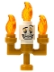 Minifig No: dp121  Name: Lumière - Small Solid Candelabra (Lumiere)