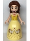 Minifig No: dp127  Name: Belle - Dress with Red Roses, no Sleeves